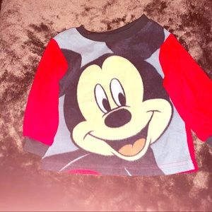Disney Mickey Mouse Shirt, 12 Months